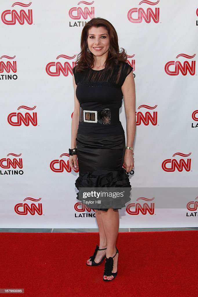 Patricia Janiot attends the CNN en Espanol and CNN Latino 2013 Upfront at Ink 48 Hotel on May 2, 2013 in New York City.