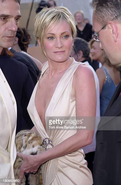 Patricia Kaas during Cannes 2002 Palmares Awards Ceremony Arrivals at Palais des Festivals in Cannes France