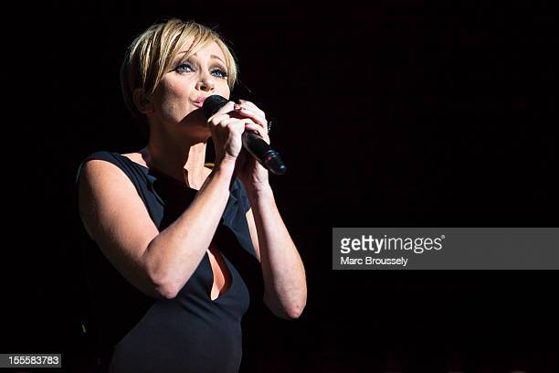 Patricia Kaas performs 'Kaas chante Piaf' on stage at Royal Albert Hall on November 5 2012 in London United Kingdom