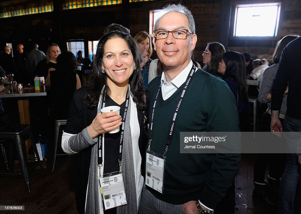 Patricia Kravtin and Jonathan Horwitz attend the Alfred P. Sloan Foundation Reception & Prize Announcement during the 2012 Sundance Film Festival on January 27, 2012 in Park City, Utah.