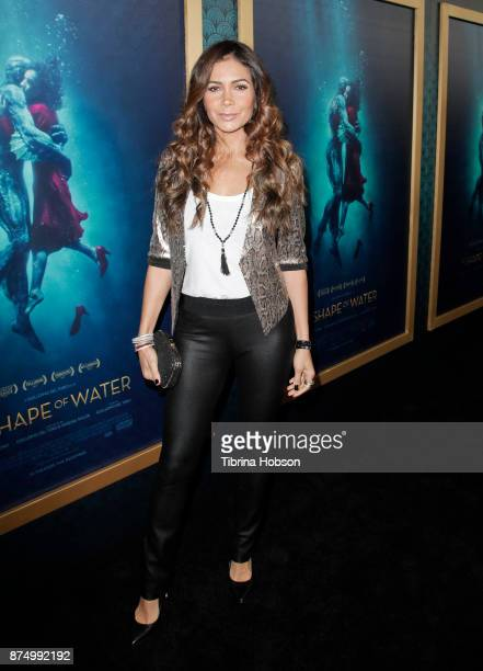 Patricia Manterola attends the premiere of 'The Shape Of Water' at Academy Of Motion Picture Arts And Sciences on November 15 2017 in Los Angeles...