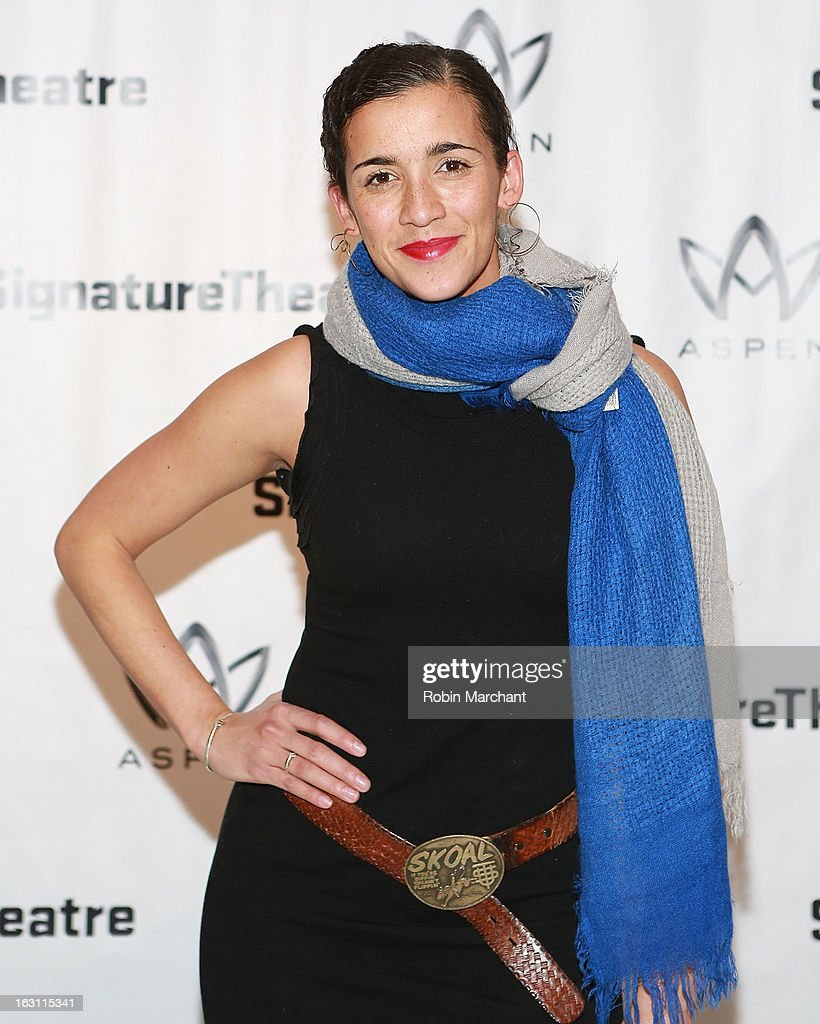 Patricia McGregor attends the 'Old Hats' Opening Night at Signature Theatre Company's The Pershing Square Signature Center on March 4, 2013 in New York City.