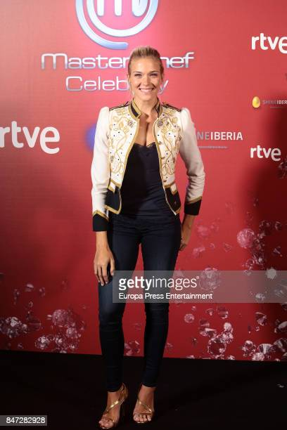 Patricia Montero attends 'MasterChef Celebrity' 2 presentation on September 14 2017 in Madrid Spain