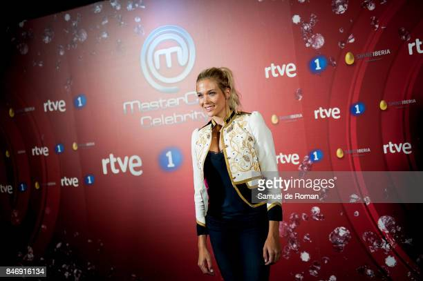 Patricia Montero during 'MasterChef Celebrity' 2 presentation on September 14 2017 in Madrid Spain