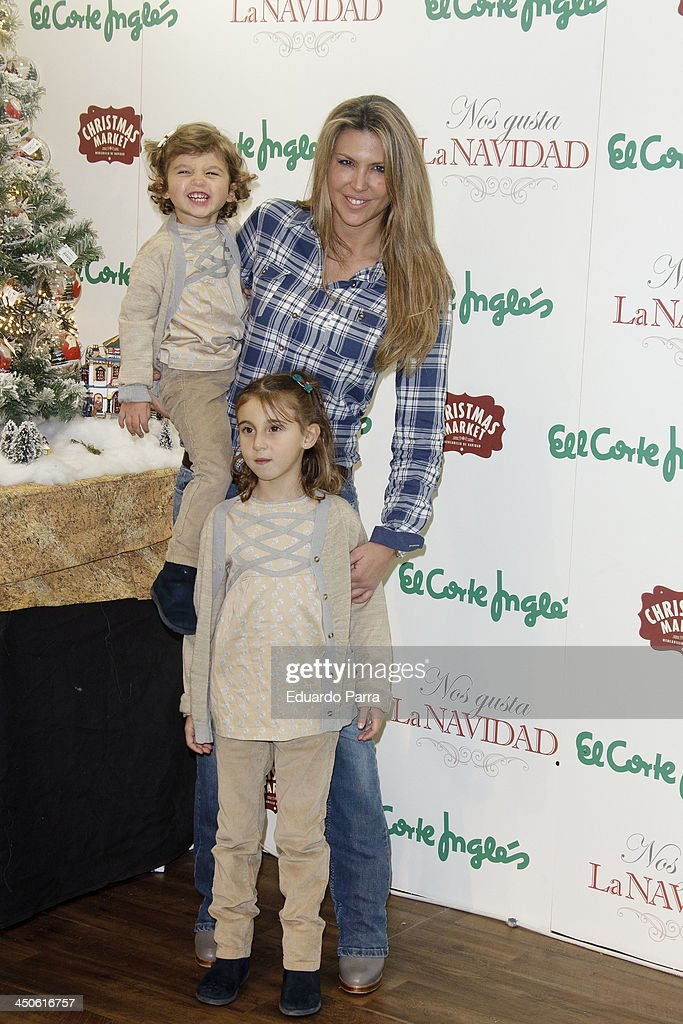 Patricia Olmedilla attends El Corte Ingles Christmas space party photocall at El Corte Ingles store on November 19, 2013 in Madrid, Spain.