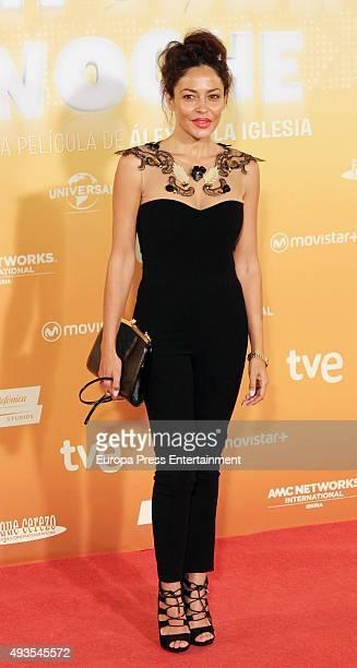 Patricia Perez attends 'Mi Gran Noche' premiere at Kinepolis cinema on October 20 2015 in Madrid Spain