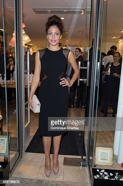Patricia Perez attends the 'Dolores Promesas' Opening Store in Paris on October 31 2014 in Paris France