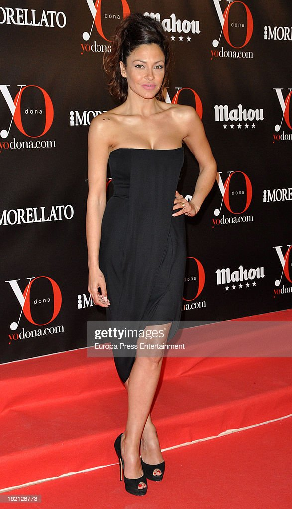 Patricia Perez attends 'Yo Dona' magazine mask party on February 18, 2013 in Madrid, Spain.