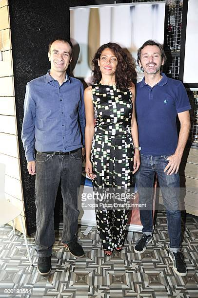 Patricia Perez presents 'Yo si que Como' television show during FesTVal 2016 Day 3 Television Festival on September 7 2016 in VitoriaGasteiz Spain