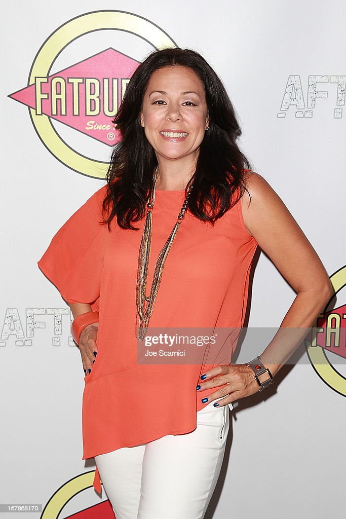 Patricia Rae arrives at the 'AFTERSHOCK' premiere presented by Dimension Films and RADiUS-TWC in partnership with Fatburger at on May 1, 2013 in Los Angeles, California.
