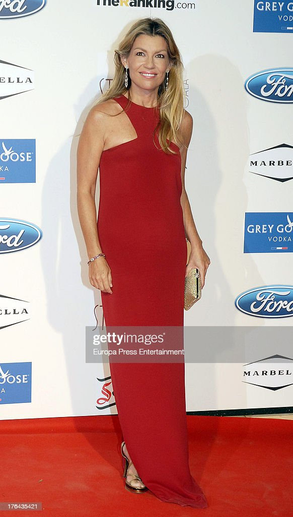 Patricia Rato attends the 4rd annual Starlite Charity Gala on August 10, 2013 in Marbella, Spain.