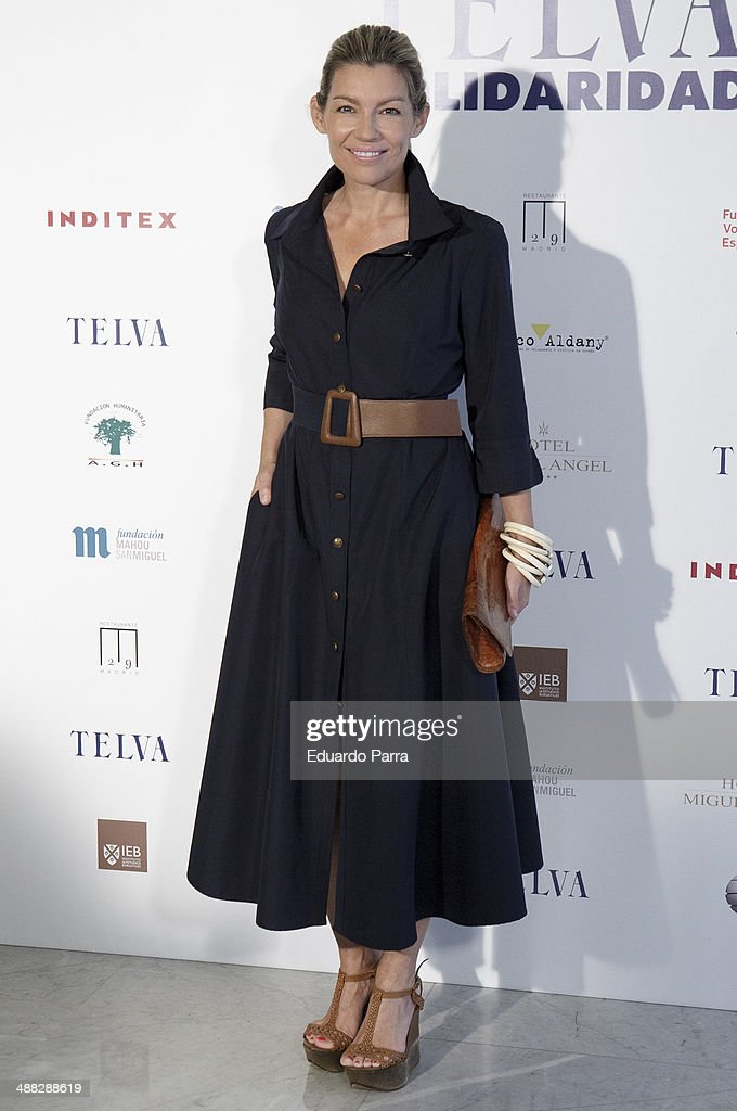 Patricia Rato attends the 'Telva solidarity awards' photocall at Miguel Angel hotel on May 5, 2014 in Madrid, Spain.