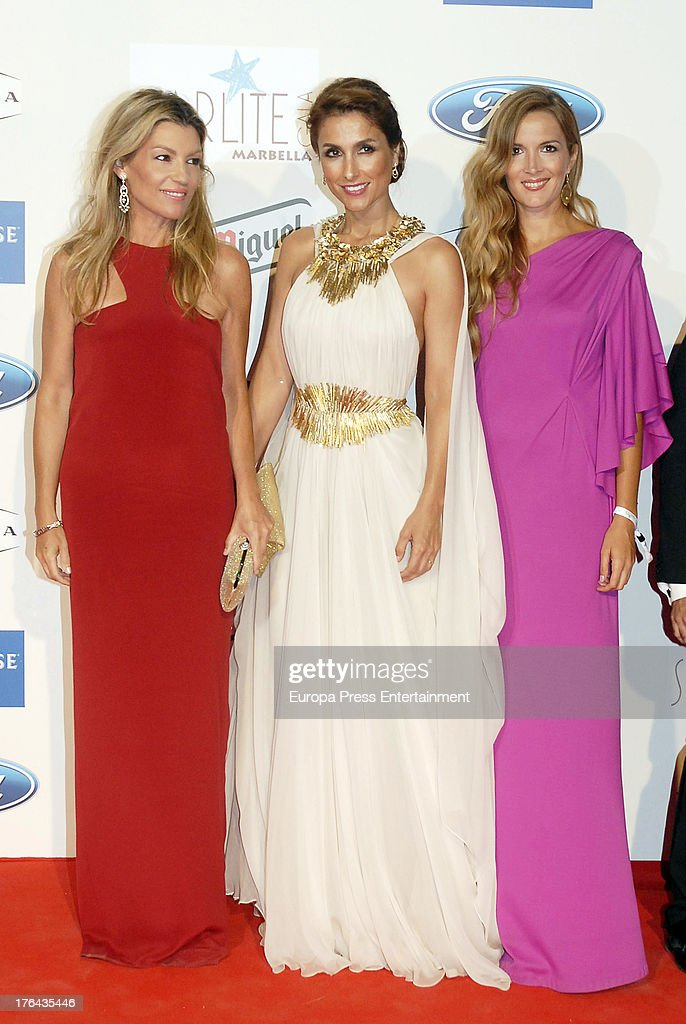Patricia Rato, Paloma Cuevas and guest attend the 4rd annual Starlite Charity Gala on August 10, 2013 in Marbella, Spain.
