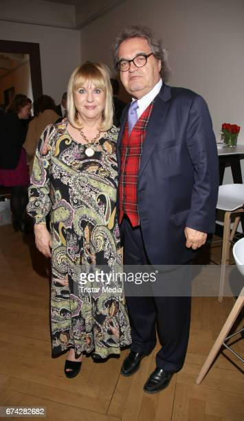 Patricia Riekel and Helmut Markwort during the Henri Nannen Award After Show Party on April 27 2017 in Hamburg Germany