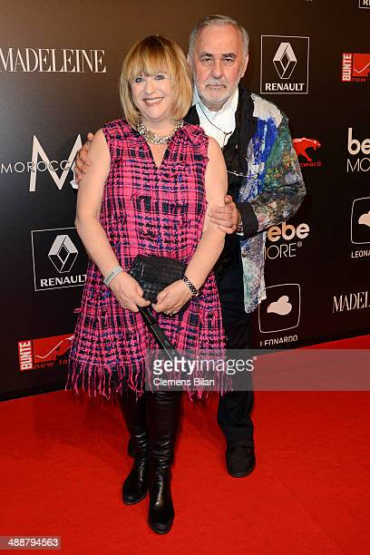 Patricia Riekel and Udo Walz attend Leonardo at the New Faces Award Film 2014 at eWerk on May 8 2014 in Berlin Germany