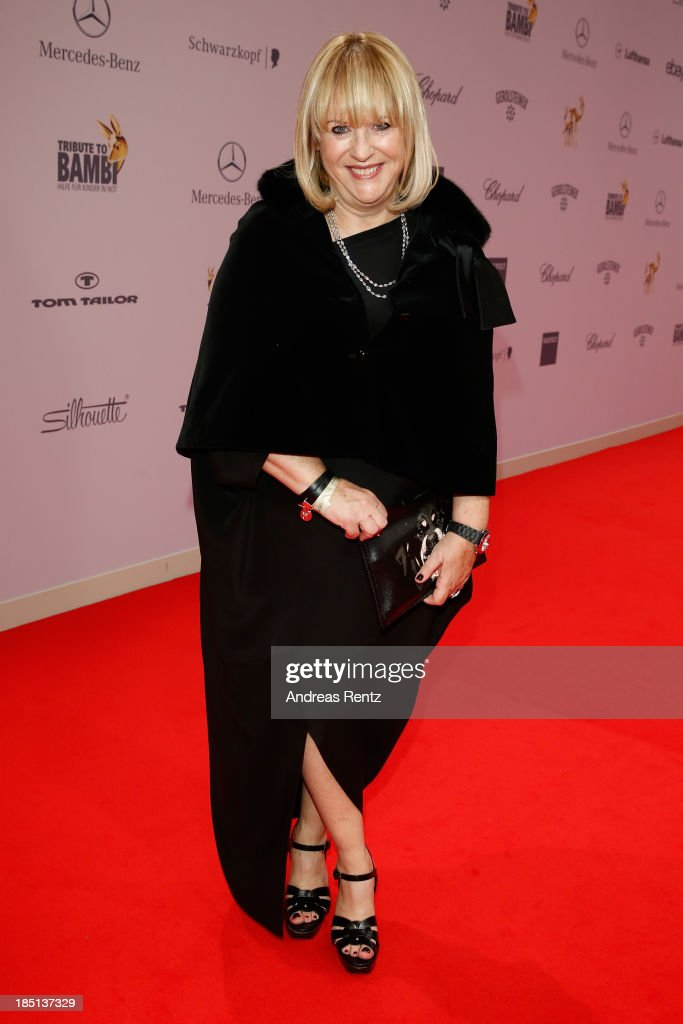 Patricia Riekel arrives at Tribute To Bambi at Station on October 17, 2013 in Berlin, Germany.