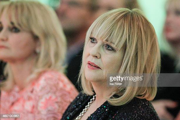 Patricia Riekel attends the Passauer Runde Hosts Christmas Charity on December 05 2014 in Passau Germany