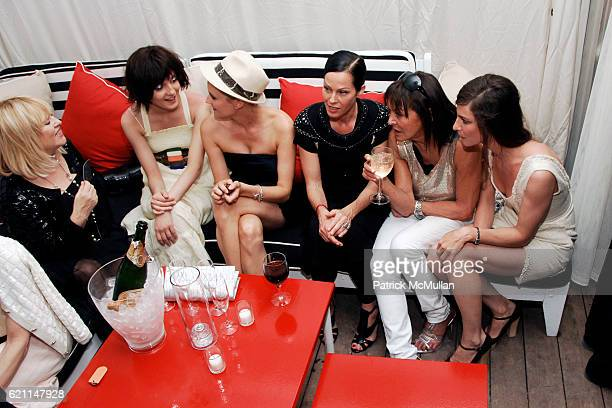 Patricia Riekel Irina Lazareanu Diane Kruger Lady Amanda Harlech Babeth Djian and Anna Mouglalis attend CHANEL 2008 Cruise Collection Afterparty at...