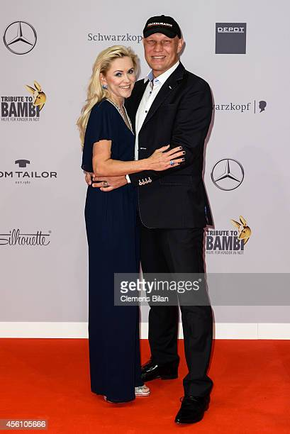 Patricia Schulz and Axel Schulz attend the Tribute To Bambi 2014 at Station on September 25 2014 in Berlin Germany