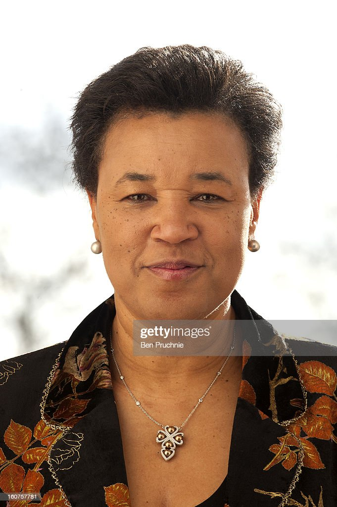 Patricia Scotland, Baroness Scotland of Asthal attends a photocall to promote One Billion Rising, a global movement aiming to end violence towards women,at ICA on February 5, 2013 in London, England.