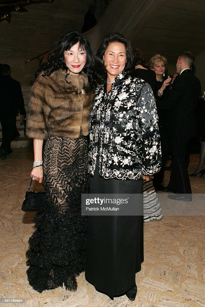 Patricia Shaw and Lynn Ramsey attend New York City Ballet Opening Night Benefit 'An American Music Celebration' at New York State Theatre on November...
