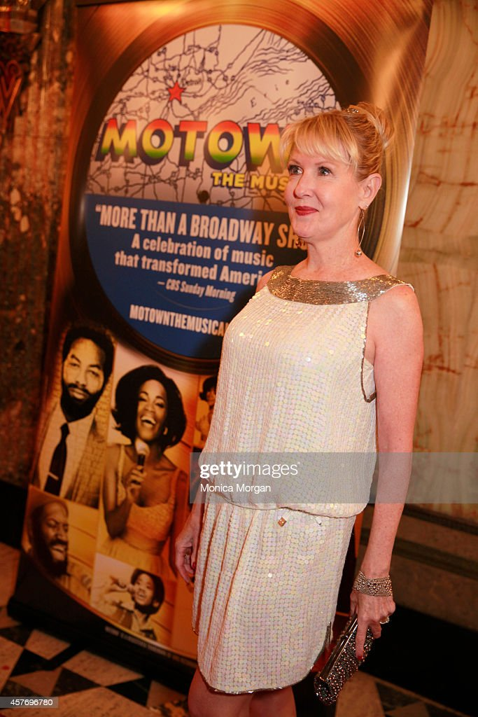 Patricia Wilcox attends the opening night of 'Motown The Musical' at The Fisher Theatre on October 22 2014 in Detroit Michigan