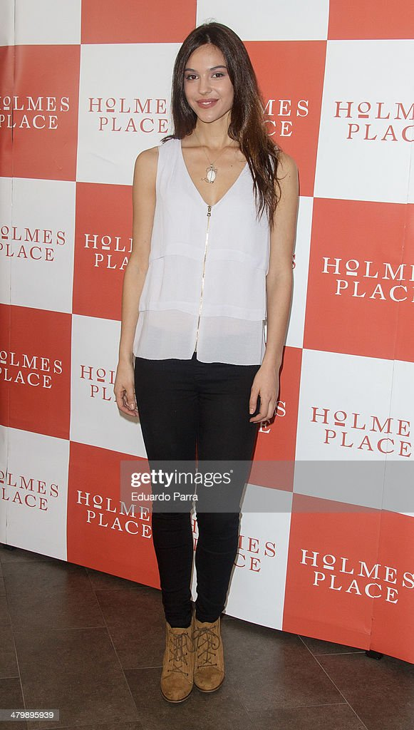Patricia Yurena attends 'iDance' opening photocall at Holmes Palace on March 21, 2014 in Madrid, Spain.