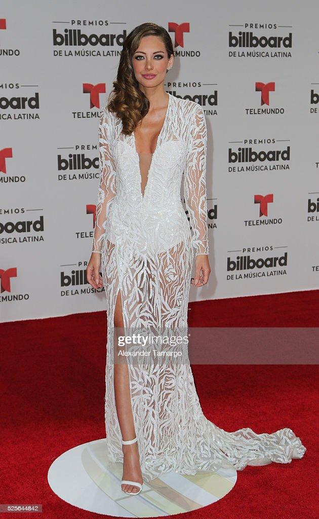 Patricia Zavala attends the Billboard Latin Music Awards at Bank United Center on April 28, 2016 in Miami, Florida.