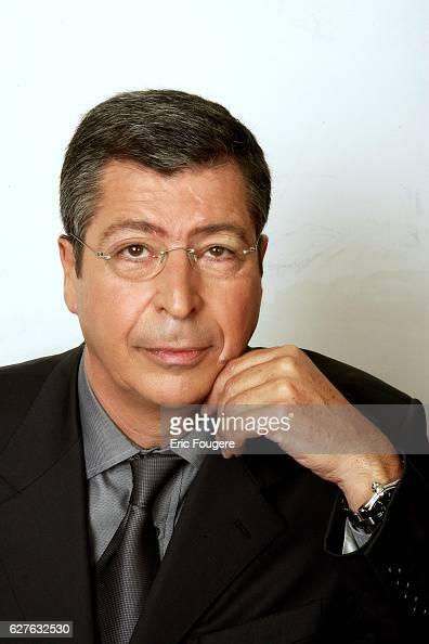 Patrick Balkany on the set of TV show 'Piques et Polemiques'