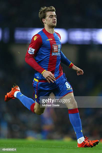 Patrick Bamford of Crystal Palace during the Capital One Cup fourth round match at the Etihad Stadium on October 28 2015 in Manchester England
