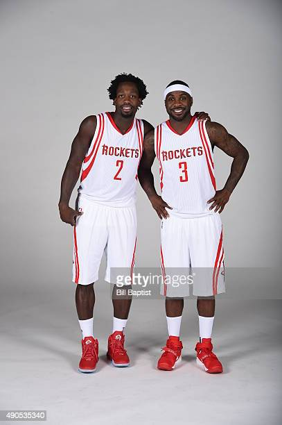 ¿Cuánto mide Carmelo Anthony? - Altura - Real height Patrick-beverley-and-ty-lawson-of-the-houston-rockets-poses-for-a-picture-id490535340?s=612x612