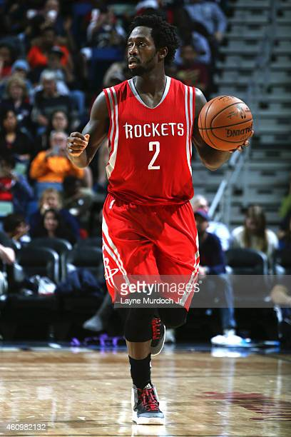 Patrick Beverley of the Houston Rockets handles the ball against the New Orleans Pelicans on January 2 2015 at Smoothie King Center in New Orleans...