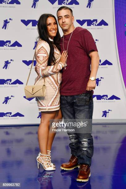Patrick Borriello attends the 2017 MTV Video Music Awards at The Forum on August 27 2017 in Inglewood California