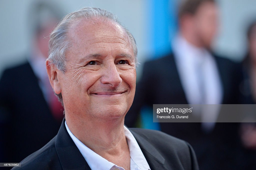 Patrick Braoude arrives at the 'Mr Holmes' Premiere during the 41st Deauville American Film Festival on September 10 2015 in Deauville France