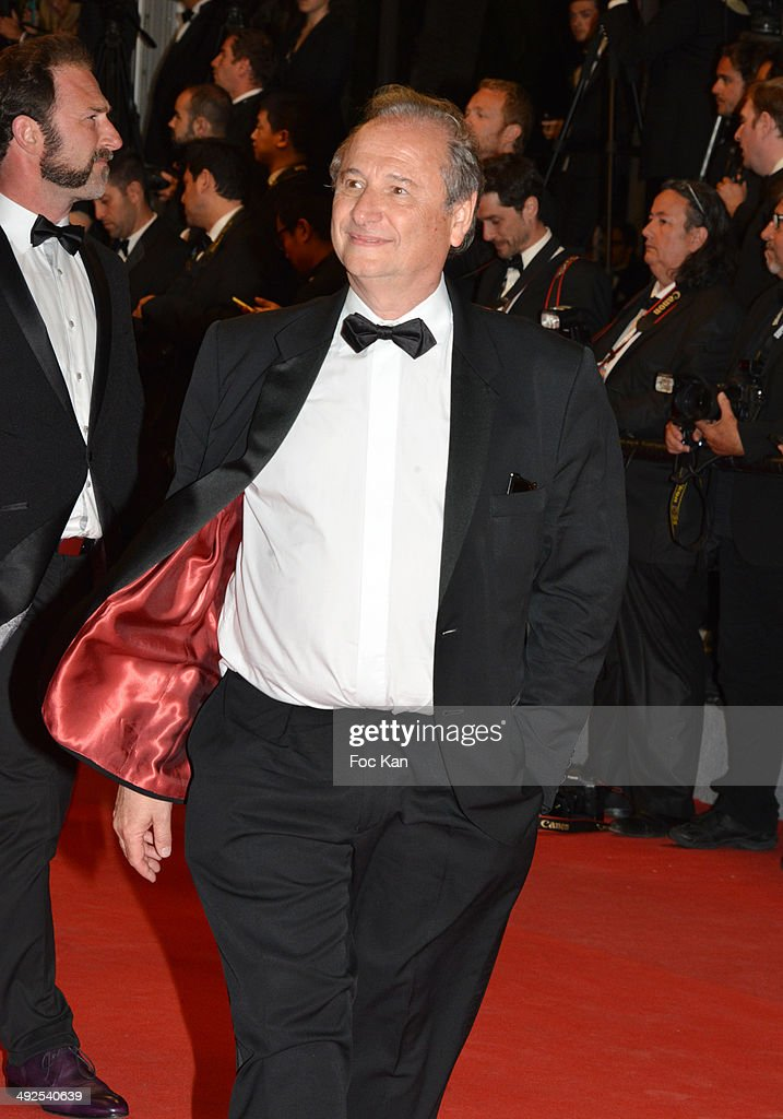 Patrick Braoude attends the 'Gui Lai' premiere during the 67th Annual Cannes Film Festival on May 20 2014 in Cannes France
