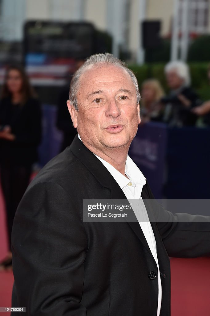 Patrick Braoude attends 'The Hundred Foot Journey' Premiere on September 6 2014 in Deauville France