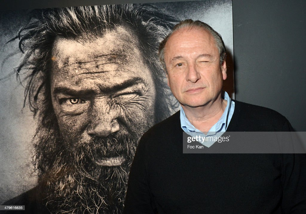 Patrick Braoude attends the Lee Jeffries Photo Exhibition Preview At Galerie Pompidou Yellow Korner on March 19 2014 in Paris France