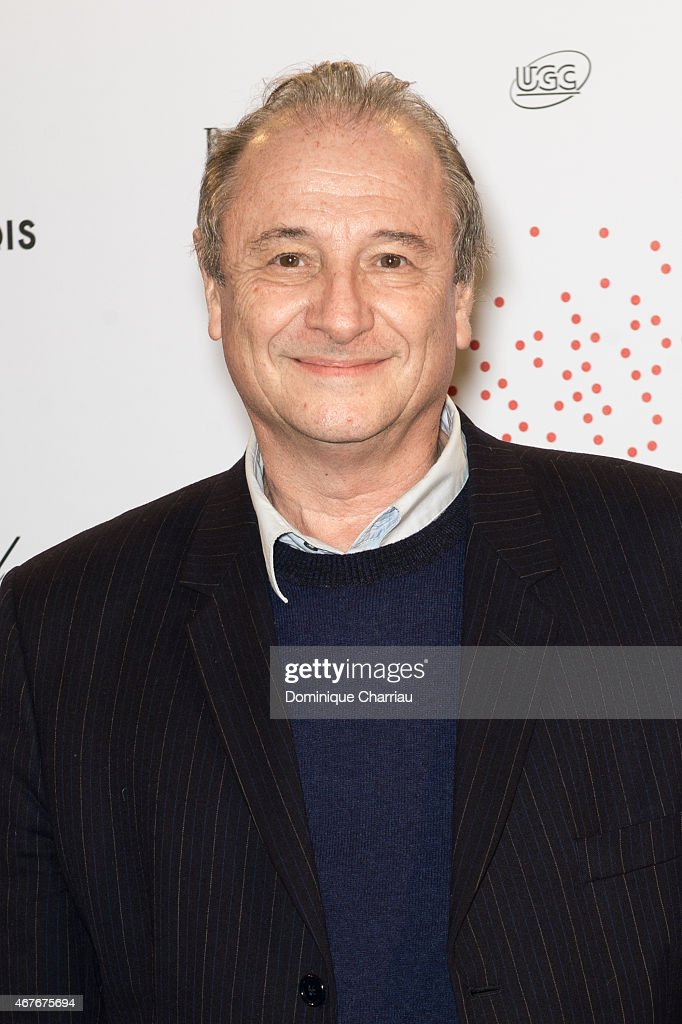 Patrick Braoude attends the Lumiere Le Cinema Invente exhibition preview on March 26 2015 in Paris France