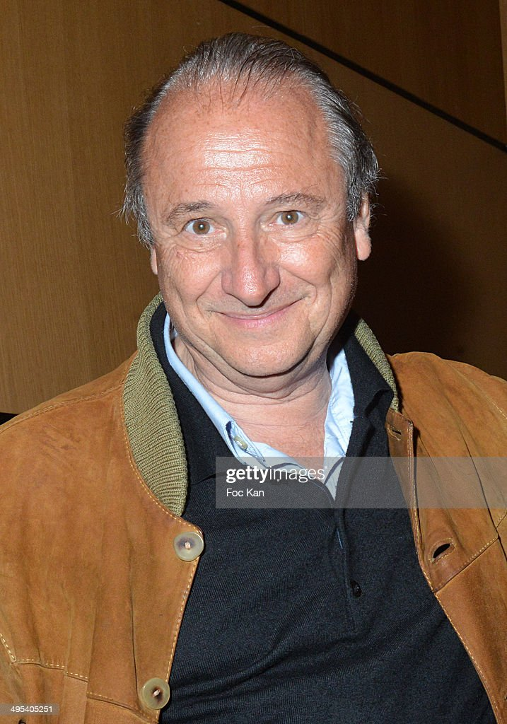 Patrick Braoude attends the 'Merci Quand Meme' Special Launching Show at ' La Grand Comedie' Theater on June 2 2014 in Paris France