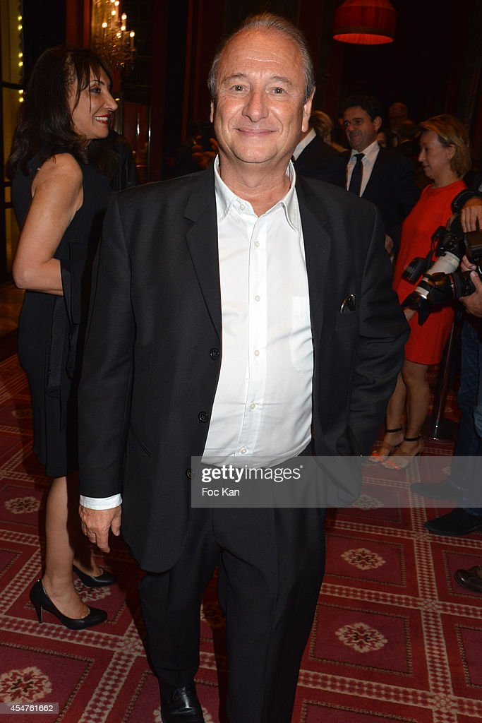 Patrick Braoude attends the Opening Dinner Party 40th Deauville American Film Festival at the Casino Lucien Barriere on September 5 2014 in Deauville...