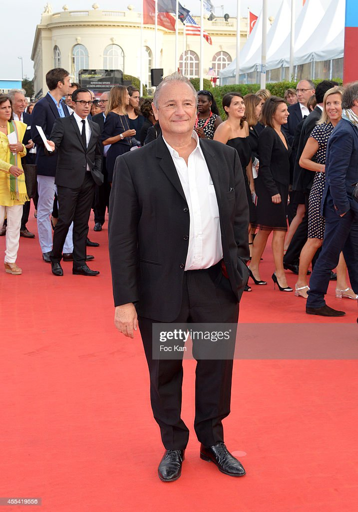 Patrick Braoude attends the 'Sin City A Dame To Kill For' Premiere 40th Deauville American Film Festival on September 13 2014 in Deauville France
