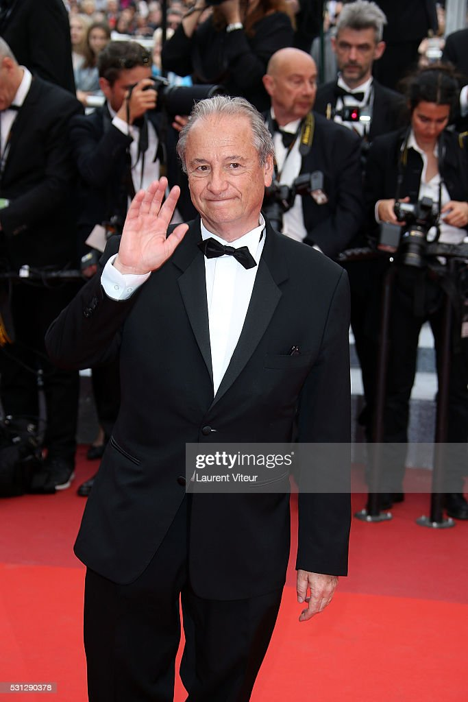 Patrick Braoude attends the 'Slack Bay ' premiere during the 69th annual Cannes Film Festival at the Palais des Festivals on May 13 2016 in Cannes