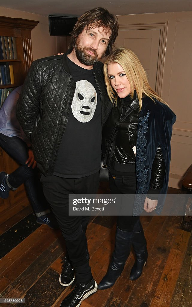 Patrick Brendan O'Neill (L) and Fiona Leahy attend a special screening of 'The Uncountable Laughter of The Sea' at Soho House Dean Street on February 6, 2016 in London, England.
