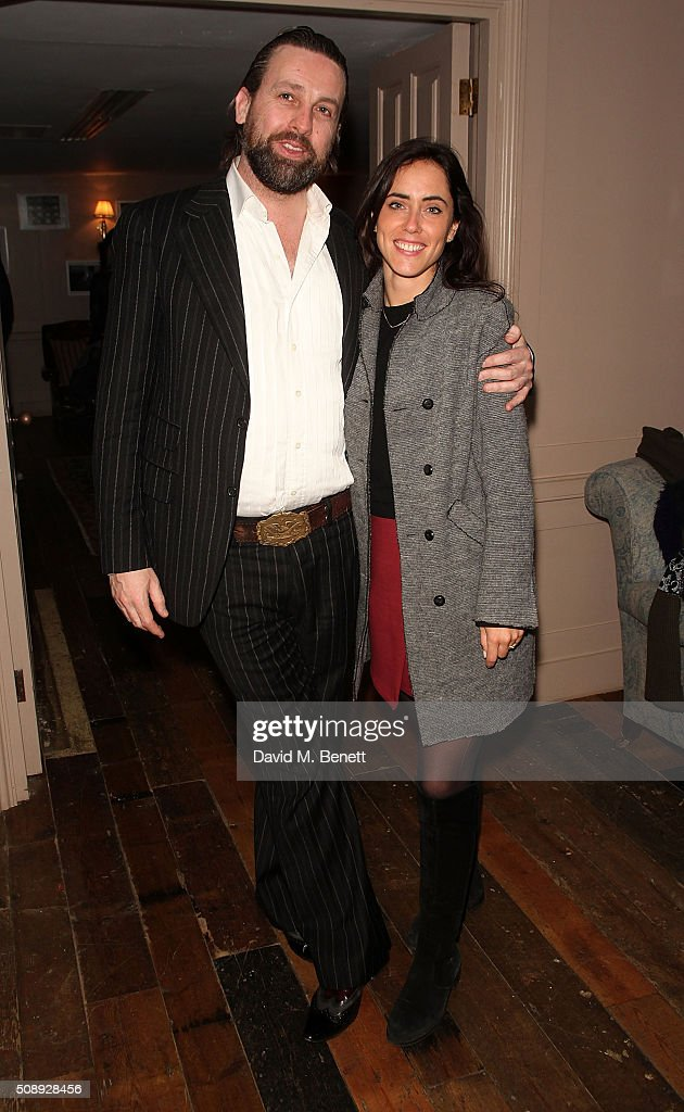Patrick Brendan O'Neill andGinevra Fiorentini attend a special screening of 'The Uncountable Laughter of The Sea' at Soho House Dean Street on February 7, 2016 in London, England.