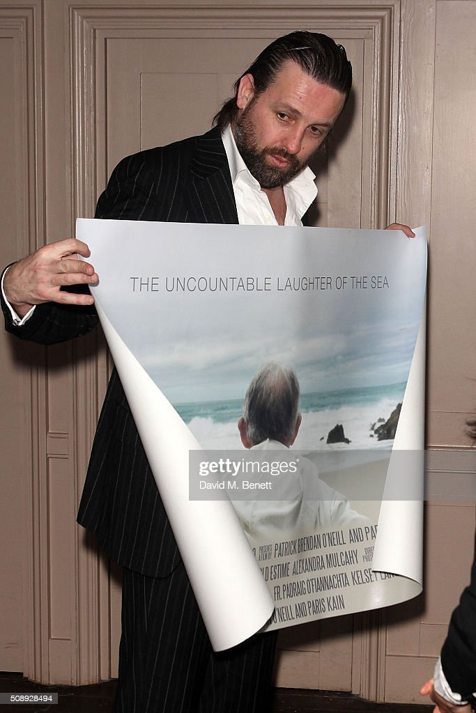 Patrick Brendan O'Neill attends a special screening of 'The Uncountable Laughter of The Sea' at Soho House Dean Street on February 7, 2016 in London, England.