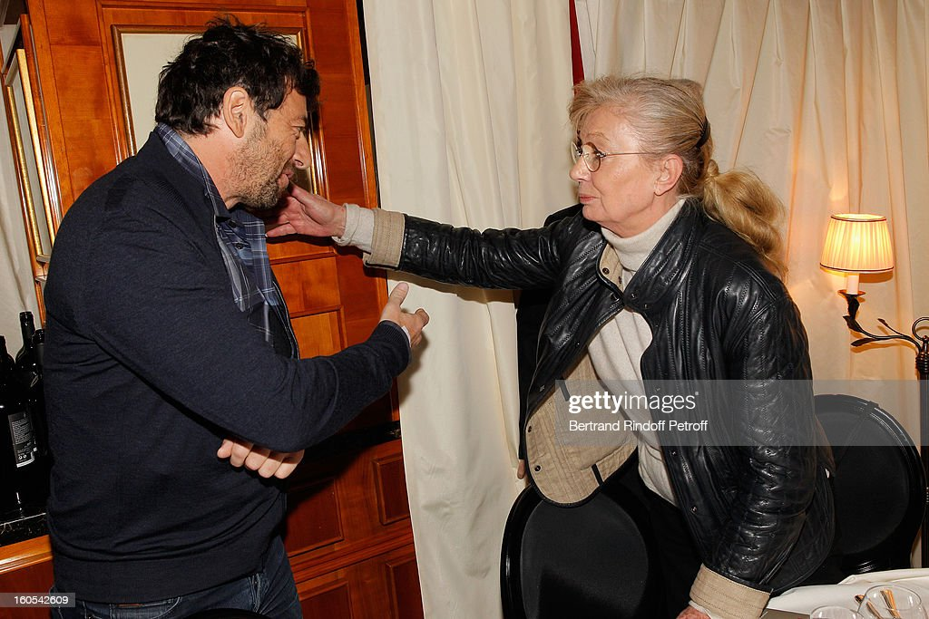 <a gi-track='captionPersonalityLinkClicked' href=/galleries/search?phrase=Patrick+Bruel&family=editorial&specificpeople=549816 ng-click='$event.stopPropagation()'>Patrick Bruel</a> and Margaret Memegoz attend the Cesar 2013 nominne lunch at Le Fouquet's on February 2, 2013 in Paris, France.