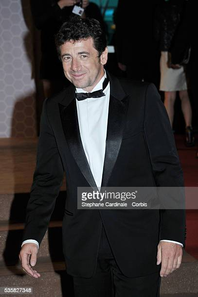 Patrick Bruel at Winners Dinner Arrivals during the 65th Cannes International Film Festival