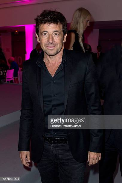 Patrick Bruel attends the Auction Dinner to Benefit 'Institiut Imagine' on September 10 2015 in Paris France