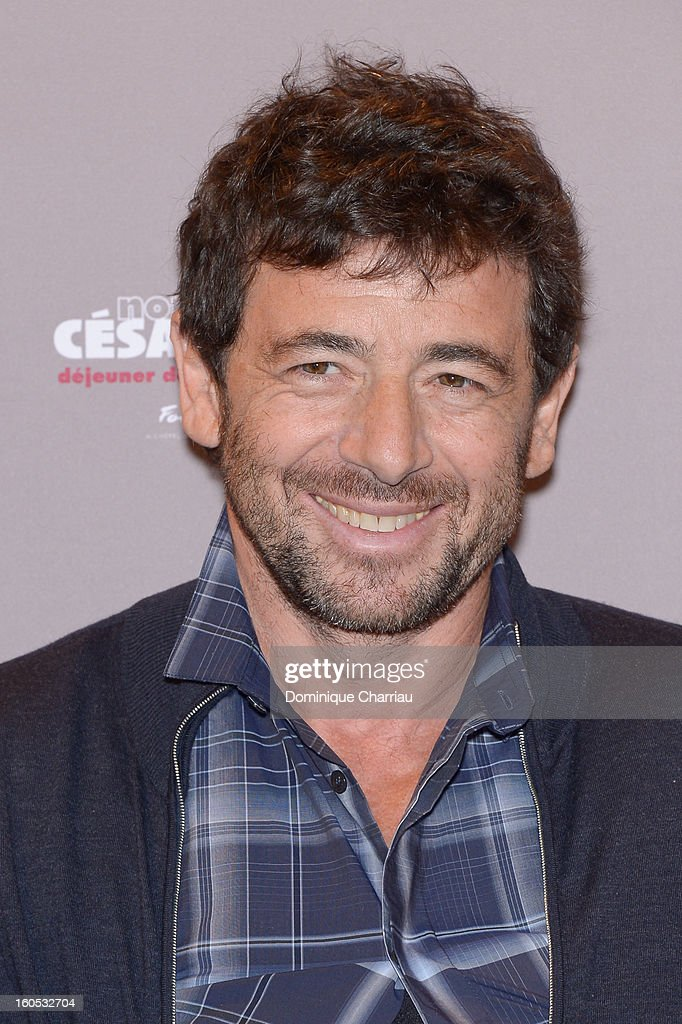 <a gi-track='captionPersonalityLinkClicked' href=/galleries/search?phrase=Patrick+Bruel&family=editorial&specificpeople=549816 ng-click='$event.stopPropagation()'>Patrick Bruel</a> attends the Cesar 2013 Nominee Lunch at Le Fouquet's on February 2, 2013 in Paris, France.