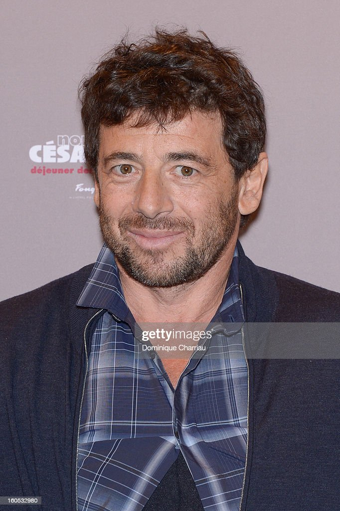 Patrick Bruel attends the Cesar 2013 Nominee Lunch at Le Fouquet's on February 2, 2013 in Paris, France.